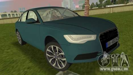 Audi A6 2012 pour GTA Vice City