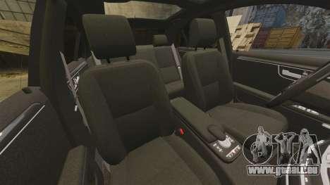 Mercedes-Benz S65 AMG pour GTA 4 est une vue de dessous