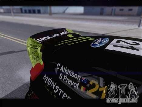 Ford Fiesta RS WRC 2013 pour GTA San Andreas vue de dessus