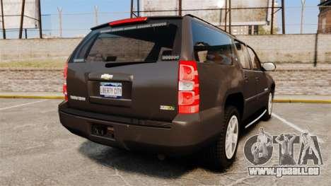 Chevrolet Suburban Slicktop 2008 [ELS] für GTA 4 hinten links Ansicht