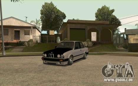 BMW E30 Stance pour GTA San Andreas