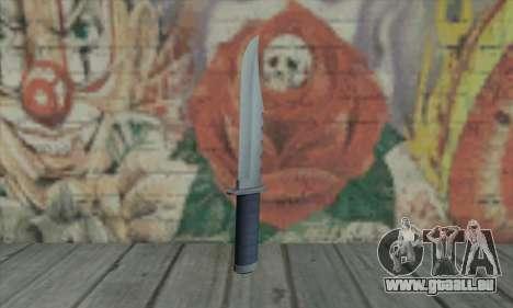 Couteau de GTA V pour GTA San Andreas