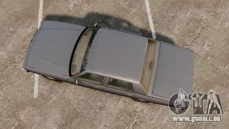 Chevrolet Caprice 1989 v2.0 pour GTA 4 est un droit