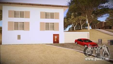 Daewoo Lanos pour GTA San Andreas vue de droite