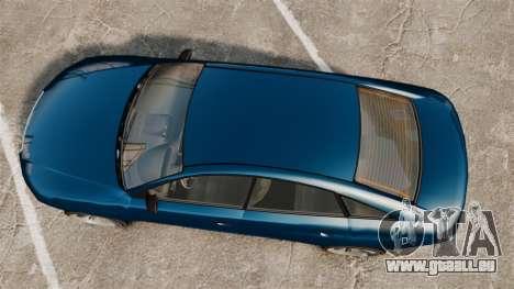 GTA V Tailgater (Michael Car) für GTA 4 rechte Ansicht