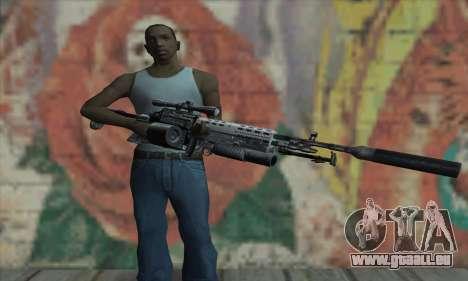 MK14 pour GTA San Andreas troisième écran