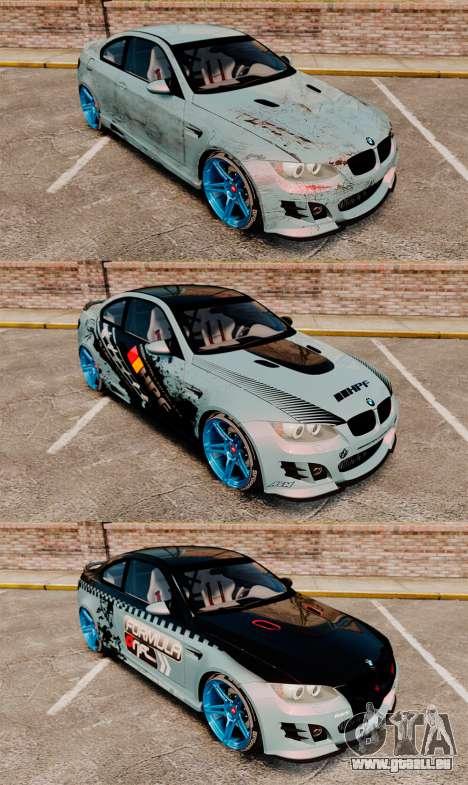 BMW M3 GTS Widebody pour le moteur de GTA 4