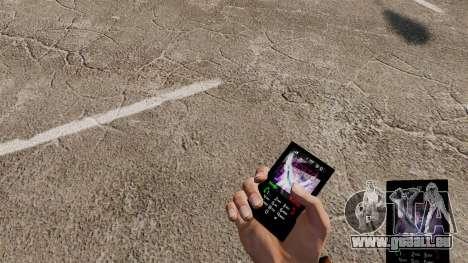Le thème pour le téléphone Tiesto pour GTA 4