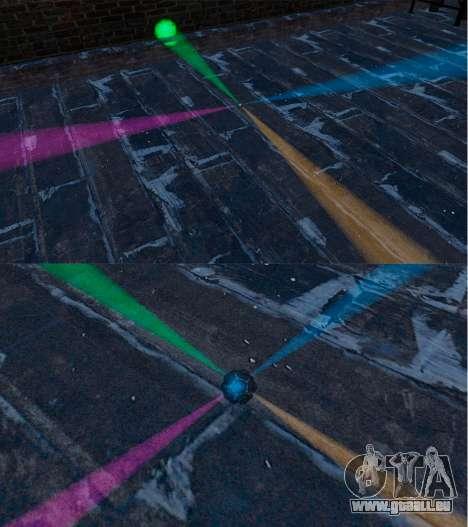 Die Disco-Granate für GTA 4 Sekunden Bildschirm
