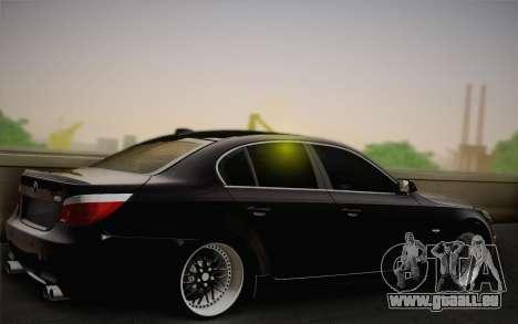 BMW M5 für GTA San Andreas Innenansicht