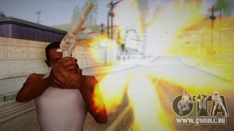 Colt Peacemaker (Chrome) pour GTA San Andreas troisième écran