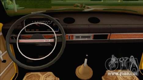 Taxi VAZ 21011 pour GTA San Andreas vue de côté