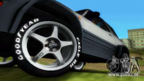 Toyota RAV 4 L 94 Fun Cruiser pour GTA Vice City Salon