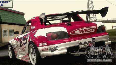 Honda S2000 RS-R pour GTA San Andreas vue de côté