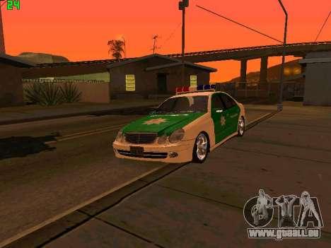 Mercedes-Benz  E500 Polizei pour GTA San Andreas
