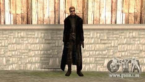 Albert Wesker dans le manteau pour GTA San Andreas
