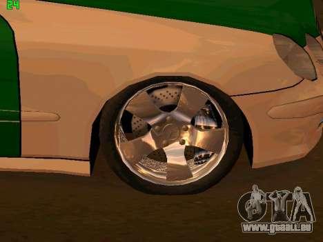 Mercedes-Benz  E500 Polizei für GTA San Andreas rechten Ansicht