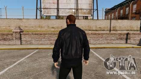 Polizei Jacke für GTA 4 Sekunden Bildschirm