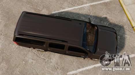 Chevrolet Suburban Slicktop 2008 [ELS] für GTA 4 rechte Ansicht