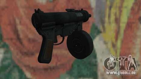 MP5 von Fallout New Vegas für GTA San Andreas zweiten Screenshot