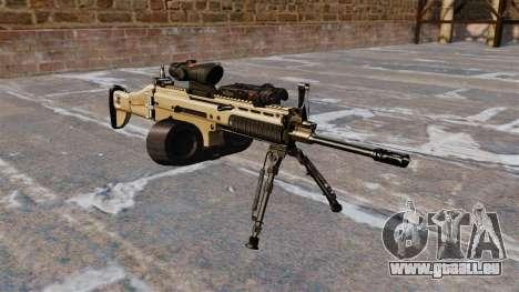 Machine d'assaut FN SCAR-L C-Mag pour GTA 4