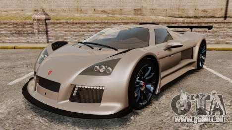 Gumpert Apollo S 2011 pour GTA 4