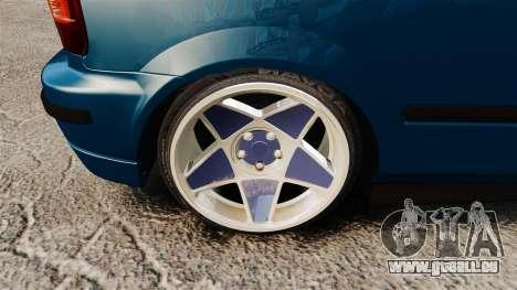 Honda Civic EK pour GTA 4 Vue arrière
