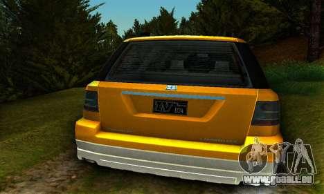 Landstalker GTA IV pour GTA San Andreas vue de droite