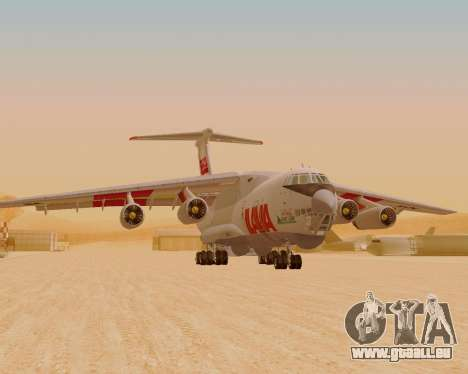 Il-76td IlAvia für GTA San Andreas