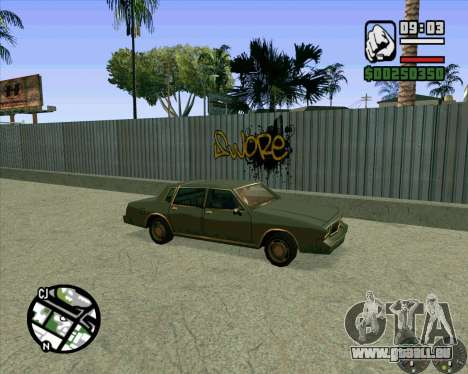 Nouveau HD Skate Park pour GTA San Andreas cinquième écran
