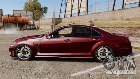 Mercedes-Benz S65 AMG pour GTA 4 est une gauche