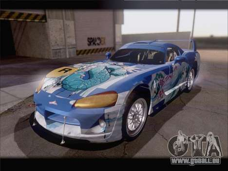 Dodge Viper Competition Coupe für GTA San Andreas Innenansicht