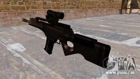 Carabine HK SL8 de Bullpup pour GTA 4 secondes d'écran