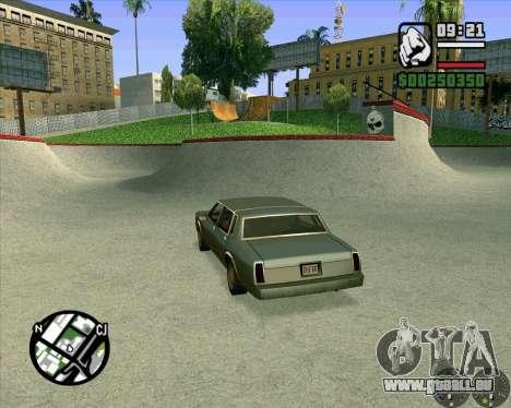 Nouveau HD Skate Park pour GTA San Andreas sixième écran