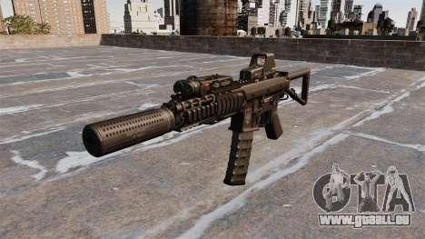 Automatische Karabiner KAC PDW für GTA 4