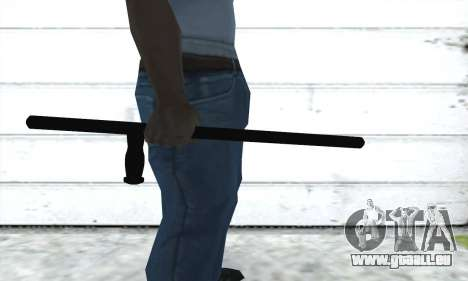 Matraque télescopique pour GTA San Andreas deuxième écran