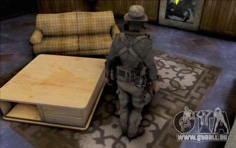 Captain Preis (Maske) für GTA San Andreas dritten Screenshot