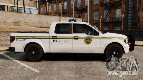 Ford F-150 2012 CEPS [ELS] pour GTA 4 est une gauche