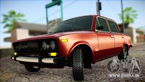 VAZ 21063 pour GTA San Andreas vue intérieure