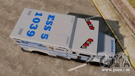 Enforcer LCPD [ELS] für GTA 4 rechte Ansicht