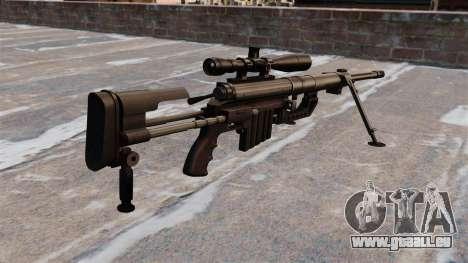 Fusil de sniper CheyTac Intervention pour GTA 4 secondes d'écran