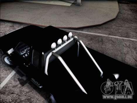 Bobcat Vapid GTA v für GTA San Andreas zurück linke Ansicht
