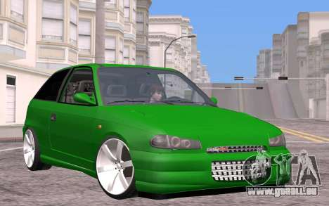 Opel Astra GSI Tuning pour GTA San Andreas
