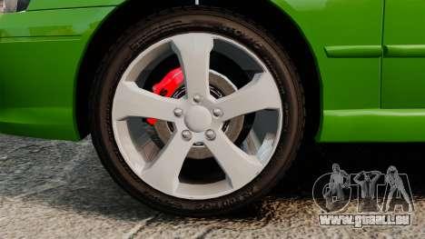 Ford Falcon XR8 pour GTA 4 Vue arrière