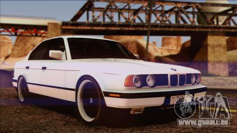 BMW 535i E34 Mafia Style für GTA San Andreas Unteransicht