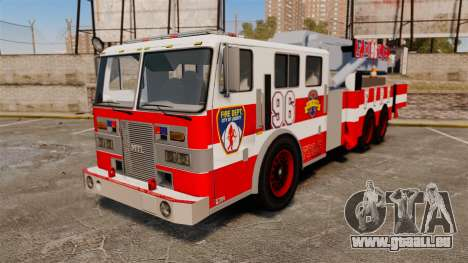 MTL Firetruck Tower Ladder FDLC [ELS-EPM] pour GTA 4