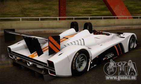 Caterham-Lola SP300.R für GTA San Andreas Rückansicht