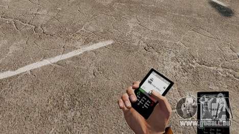 Das Thema für das Telefon G-Star für GTA 4