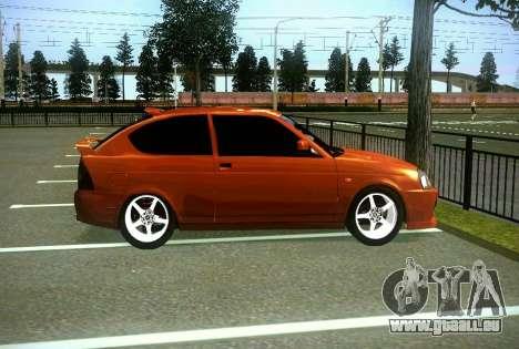 VAZ-2172 Coupé Sport pour GTA San Andreas vue intérieure
