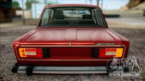 VAZ 21063 pour GTA San Andreas vue de côté